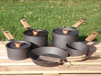 Netherton Foundry Cast Iron 5 Piece Pan Set