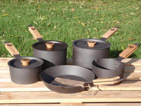 Netherton Foundry Spun Iron 5 Piece Pan Set