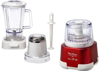 Moulinex Moulinette 3-in-1 Blender, Chopper & Grinder Set