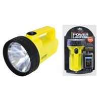 Lloytron D2001YL Dual Power Lantern With Pj996 Battery in Yellow
