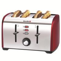Breville VTT391 Four Slice Toaster - Red
