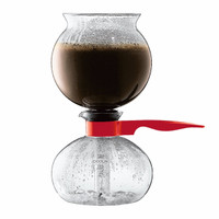 Bodum Pebo Vacuum Coffee Maker - Red