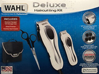 Wahl Deluxe Haircutting Clipper/Trimmer Set