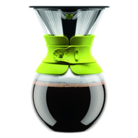 Bodum Pour Over Coffee Maker With Permanent Filter 1 Litre - Lime Green