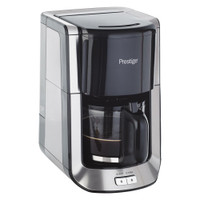 Prestige Coffee Maker, Brushed Stainless Steel