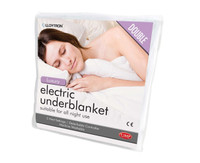 Lloytron Luxury Washable Heat Control Electric Double Underblanket