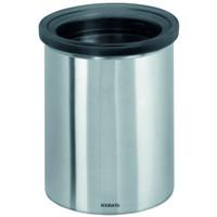 Brabantia Waste Bin for Tea Bags and Coffee Pods in Matt Steel