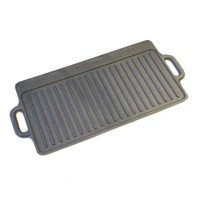 Kitchen Craft Deluxe Cast Iron Griddle 45cm