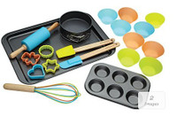 Kitchen Craft Miniamo Brights 20 Piece Deluxe Baking Set