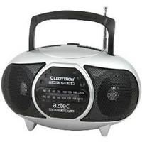 Lloytron N723SV Aztec AM/FM Radio  in Silver