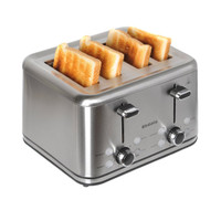 Brabantia 4 Slice Stainless Steel Toaster