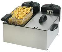 Team Pro CoolZone Double Fryer
