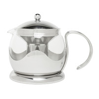 La Cafetiere Glass & Stainless Steel 4-Cup Teapot