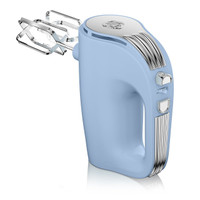 Swan 5 Speed Retro Hand Mixer in Blue