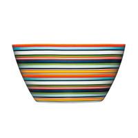 Iittala Origo 0.5L Decorated Bowl - Orange Stripes