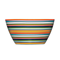 Iittala Origo 0.5L Decorated Bowl - Orange Stripes