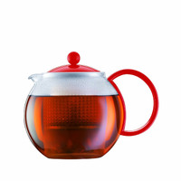 Bodum 1 L Assam Tea Press - Red