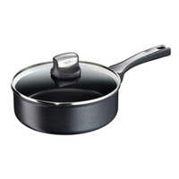 Tefal Expertise Hard Anodised Non-Stick Saute Pan 24cm with Lid