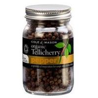 Cole and Mason Organic Tellicherry Black Peppercorns