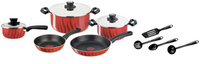 Tefal Tempo Flame Dutch Oven Pan Set