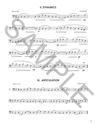 Daily Routine Songbook for Trombone
