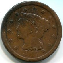 1847  Large Cent    F