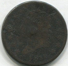 1812 Large Cent  VG