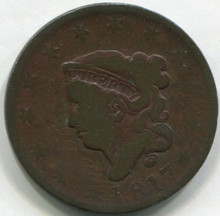 1817 Large Cent  G  13 Stars