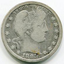 1893   Barber Quarter VG