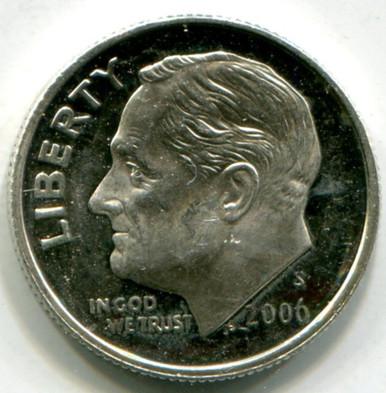 2006  S Roosevelt Dime UNC