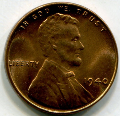 1940 Lincoln Cent MS66