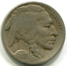 1927 S Buffalo Nickel, G