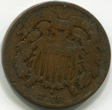1862 Two cents,  G