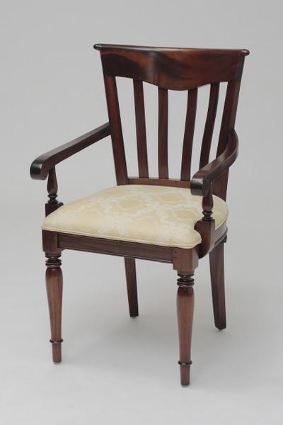 Biedermeier Slat Back Armchair