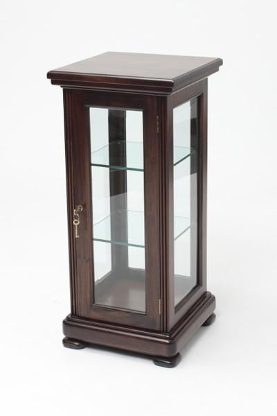 Slender Mahogany Display Cabinet