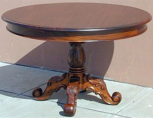 Mahogany Victorian Round Table