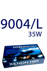 9004/L (HB1/HB5) - 35W canbus HID kit