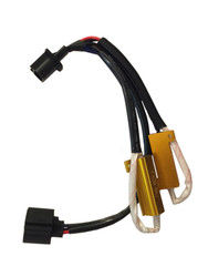 H13 High/Low T50W 8RJ (8 Ohm) plug-n-play resistor harness