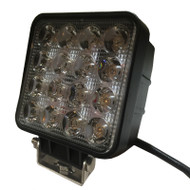 "5.5"" 48W BE48S (3800lm) Square Heavy Duty CREE LED Work Light (1pc) - SPOT & FLOOD BEAM"