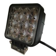 "5.5"" 48W BE48S (3800lm) Square Heavy Duty CREE LED Work Light (1pc) - SPOT & FLOOD BEAM"