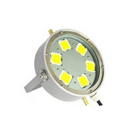 "10"" High Power 600W Commercial Fishing Boat LED light - 66,000lm"