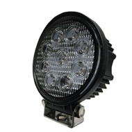 "4"" 27W MS2205 (1950lm) Round Heavy Duty CREE LED Work Light (1pc) - SPOT & FLOOD BEAM"
