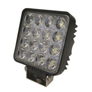 "5.5"" 48W ASE03-S (1500lm) Square Cargo EP LED Work Light (1pc) - FLOOD BEAM"
