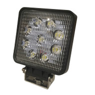 "5.5"" 27W ASE03-SS (1150lm) Square Cargo EP LED Work Light (1pc) - FLOOD BEAM"