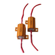 Hyperflash Fix LED T 25W 8RJ (8 Ohm) resistor set / 2pcs