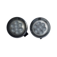 JEEP Wrangler LED Signal Light Set DOT SAE Compliant Amber Color - 2pcs