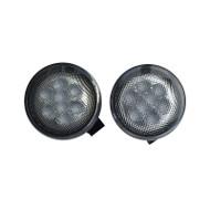 JEEP Wrangler LED Signal Light Set DOT SAE Compliant Amber Color - 2pcs