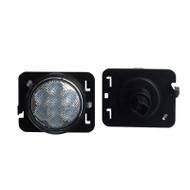 JEEP Wrangler LED Side Marker Light Set DOT SAE Compliant Amber Color - 2pcs