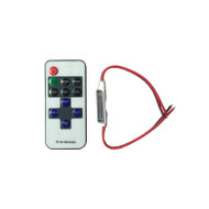 12V LED Multifunction Mini RF Wireless Remote Controller & Dimmer for Single Color 3258 & 5050 LED Strip Lighting