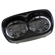 "7"" 96W Harley Davidson Road Glide DOT SAE Dual CREE LED Headlights"
